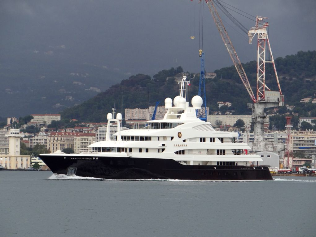 SARAFSA , appareillant  du port de Toulon le 14 octobre 2014