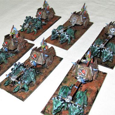 Scratch de char Gobelin pour Kings of war.   (la fin!)