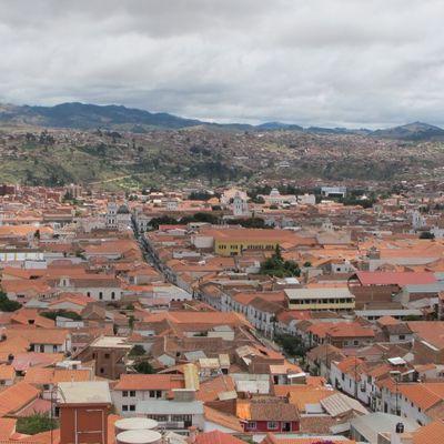 BOLIVIE : Sucre, la ciudad blanca...