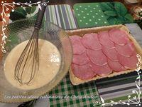Tarte bacon & noix