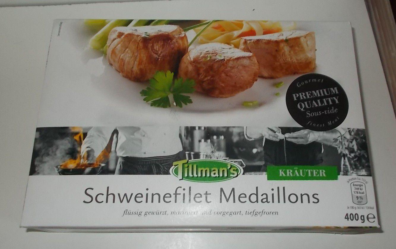 Tillman's Schweinefilet Medaillons Kräuter Sous-Vide
