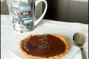 Tartelettes Fruits exotiques - Chocolat noir