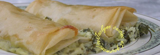 Croustillants à la feuille de brick, verts de blettes de la ferme, fromage frais de brebis bio de ma région *Repas du soir ou mises en bouche*