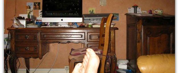 Une petite pause, c'est le pied ?