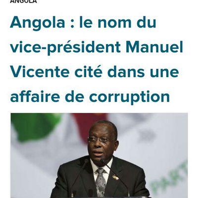 Manuel Vincente cité en corruption