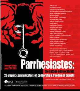 Parriastes: The Cutting Edge of Truth. 26 Graphic Communicators on Censorship and Freedom of Thought
