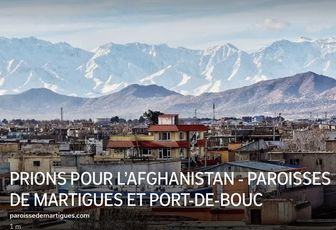 PRIONS POUR L'AFGHANISTAN