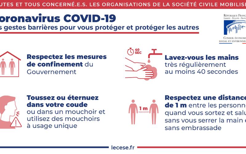 COVID-19 Prolongation de l'arrêt de nos activités