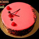 Bavarois Framboise Vanille