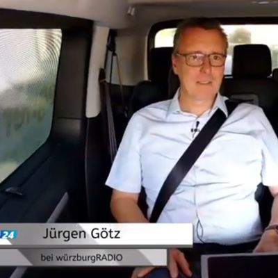 Veitshöchheimer Bürgermeister on tour: Bürgermeistergespräch neu im talkTAXI von würzburgRADIO/TV/WRT24