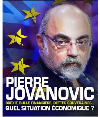 """Après le Brexit, la bulle financière ?"""" Pierre Jovanovic"""