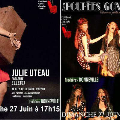 Sniff ! Les derniers spectacles du Festival ! Dimanche 27 Juin, Cie Théâtre au Vent Julie Uteau et les Poupées Gonflées