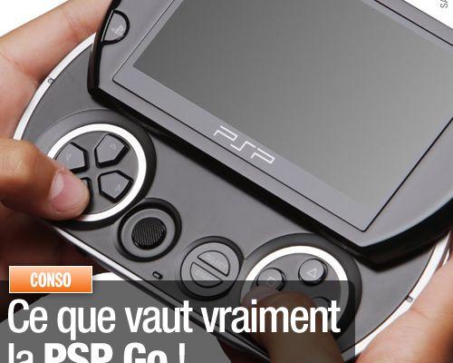 Ce que vaut vraiment la PSP Go !