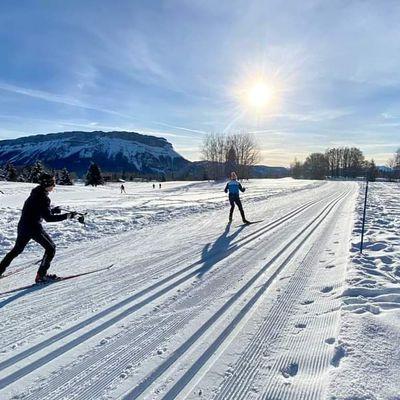 Ski de printemps / domaine nordique du Revard