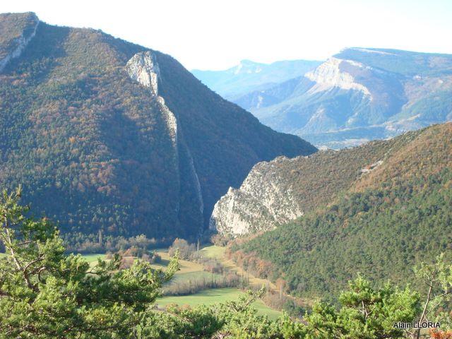 Départ du Pas de la Roche, col de Ménil, Le Bichon, col de Villard