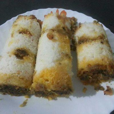 Prawns Funnel Cake Recipe
