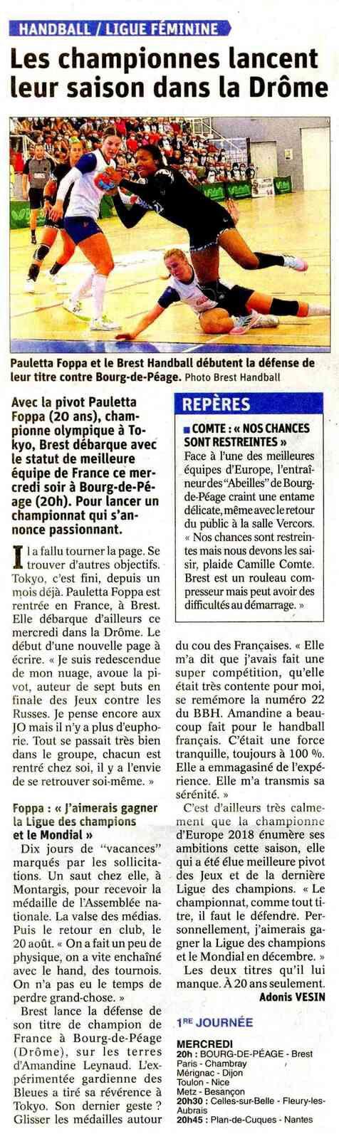 Les championnes lancent leur saison dans la Drôme, l'article de Adonis VESIN