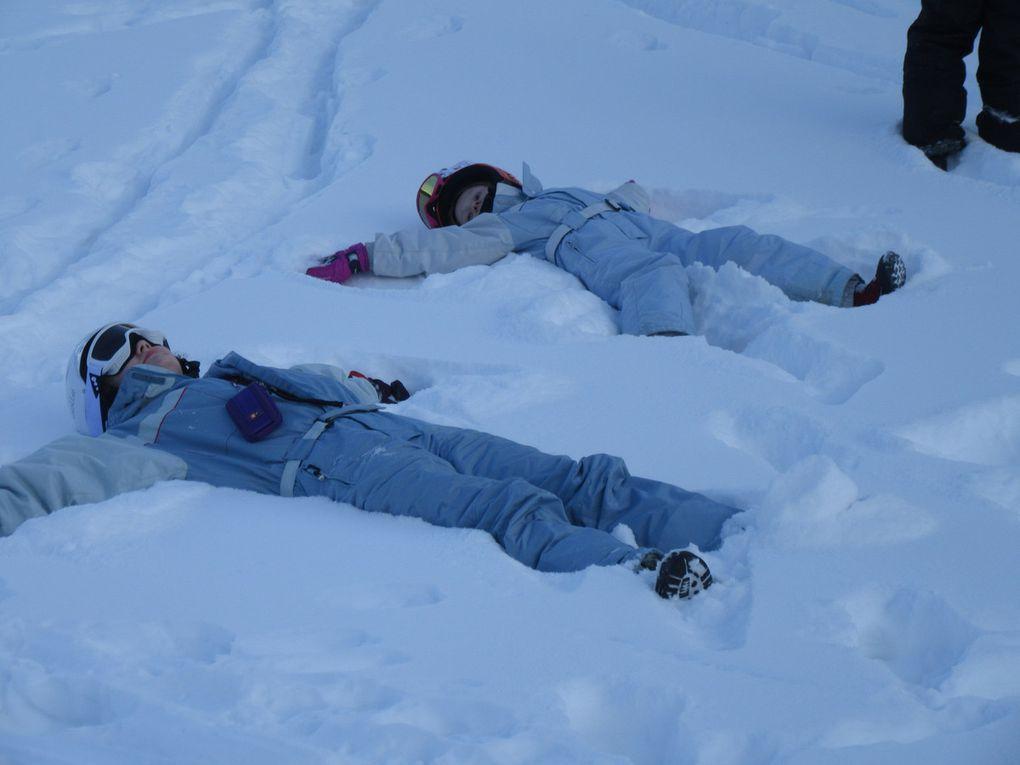 Troisième jour de classe de neige
