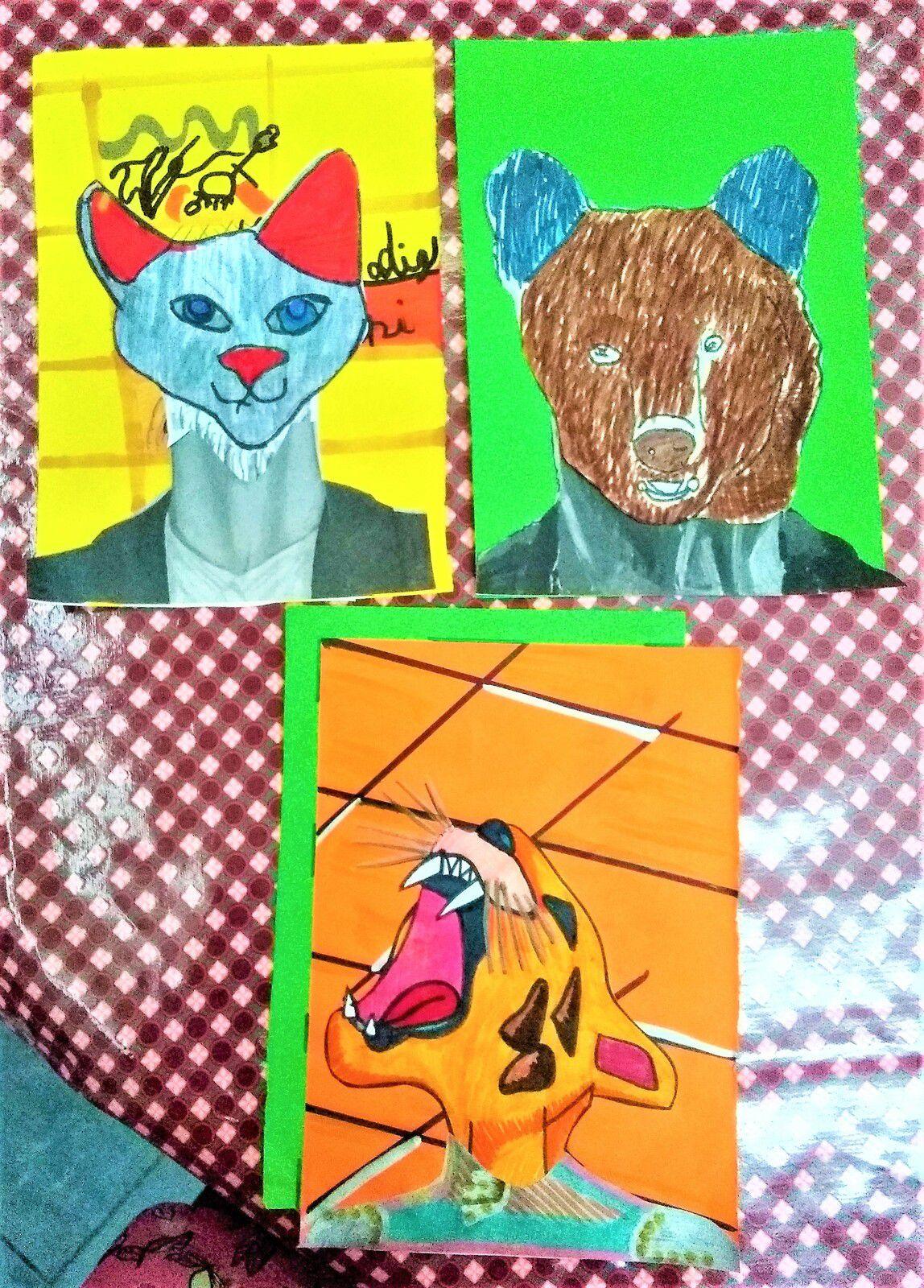 ~ Atelier des B-A ~ Anthropomorphisme ~ Portraits ~
