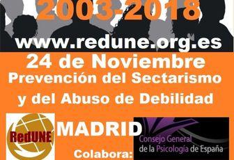 Encuentro de RedUNE 2018-Madrid 24 Noviembre