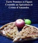 Tarte Pommes, Figues et Crumble au Spéculoos ...