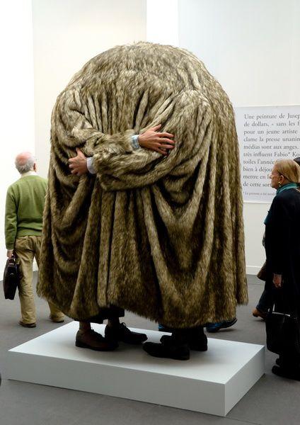 Oeuvres exposées au Grand Palais. Photos Ph. Pons