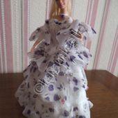 tuto gratuit barbie : tenue princesse Cindy - laramicelle