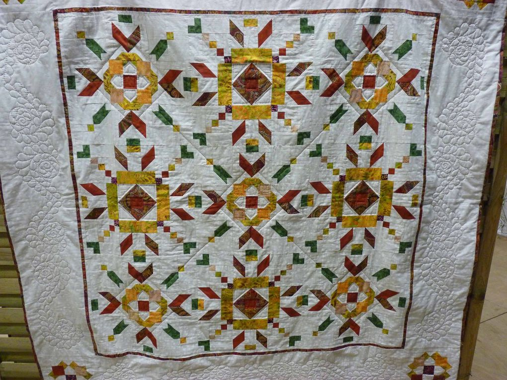 quilt mystère France-Patchwork photos J.Vétillard
