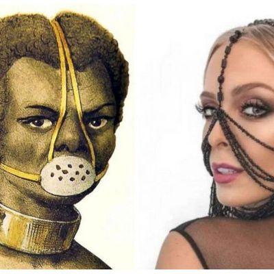 Se merecem: Esposa de Cocielo também  já protagonizou episódio racista.