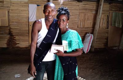 Grand événement sur l'île d'Eloubaline ' le Mariage de Rosalie et de Conakry ' adjoint au chef du village