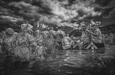 Denver Art Gallery, Ungami Festival in Ogimi Village, Okinawa Japan