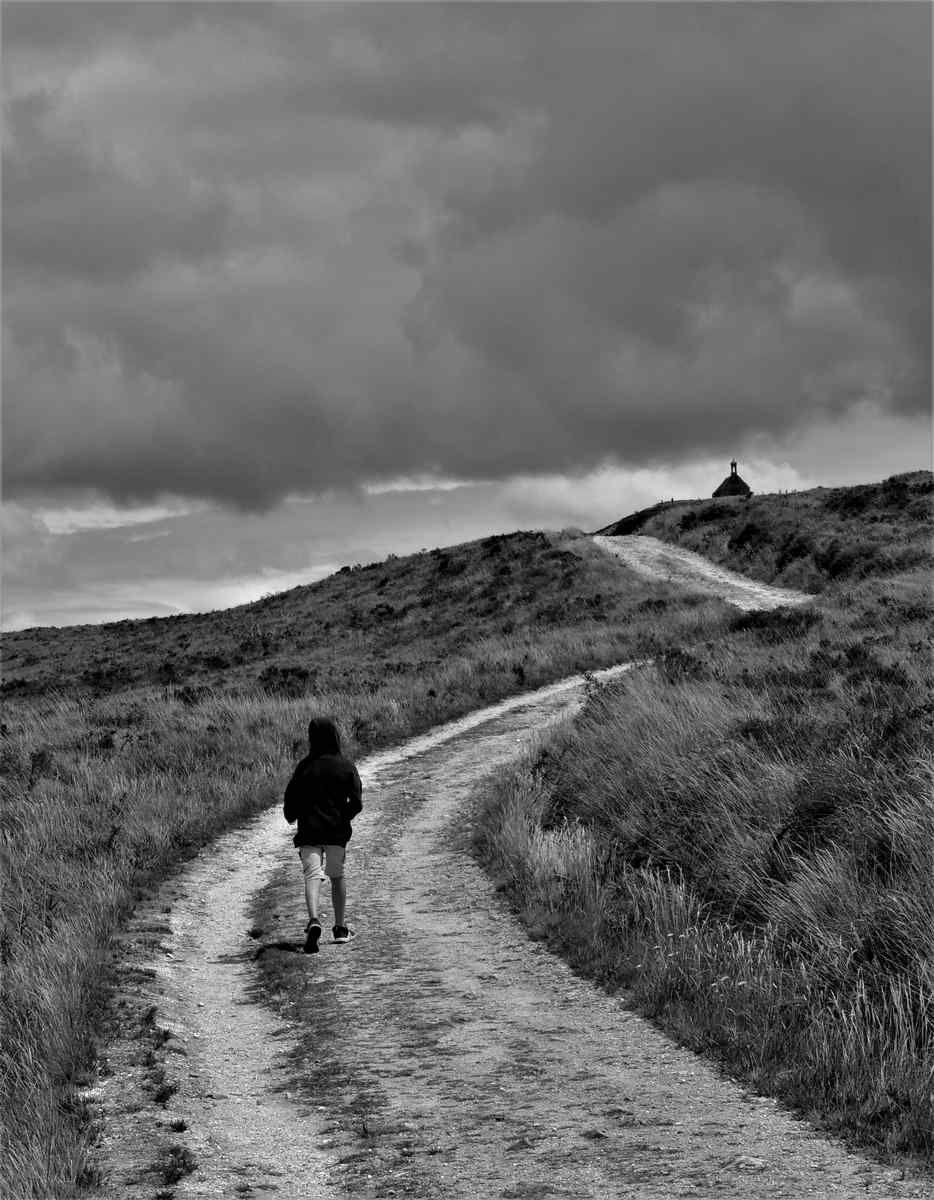 """Photo Gérard Pirou:     """"Montée au sommet de la Bretagne..."""""""