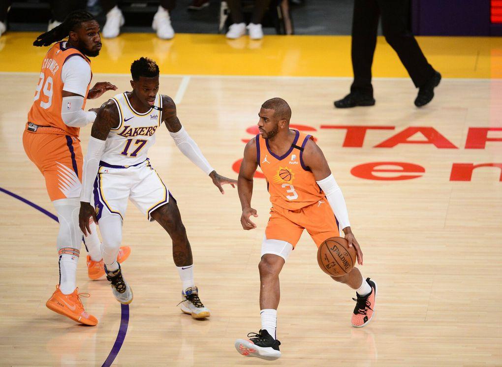 Les Suns reprennent l'avantage du terrain en battant les Lakers  (2-2)