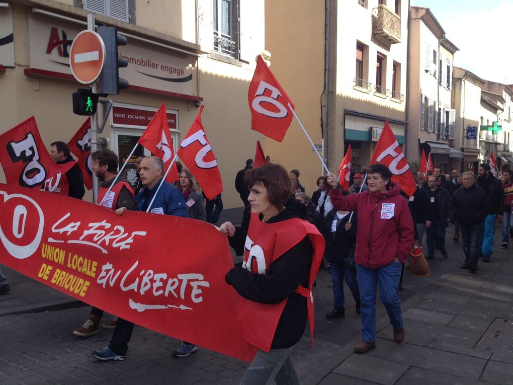 Samedi 9 avril : manifestation à Brioude, rassemblement au Puy