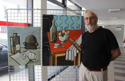 Christian Bourdin expose ses toiles et ses dessins au Caveau des Récollets