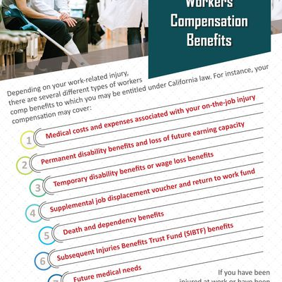Understanding The Different Types Of Workers Compensation Benefits