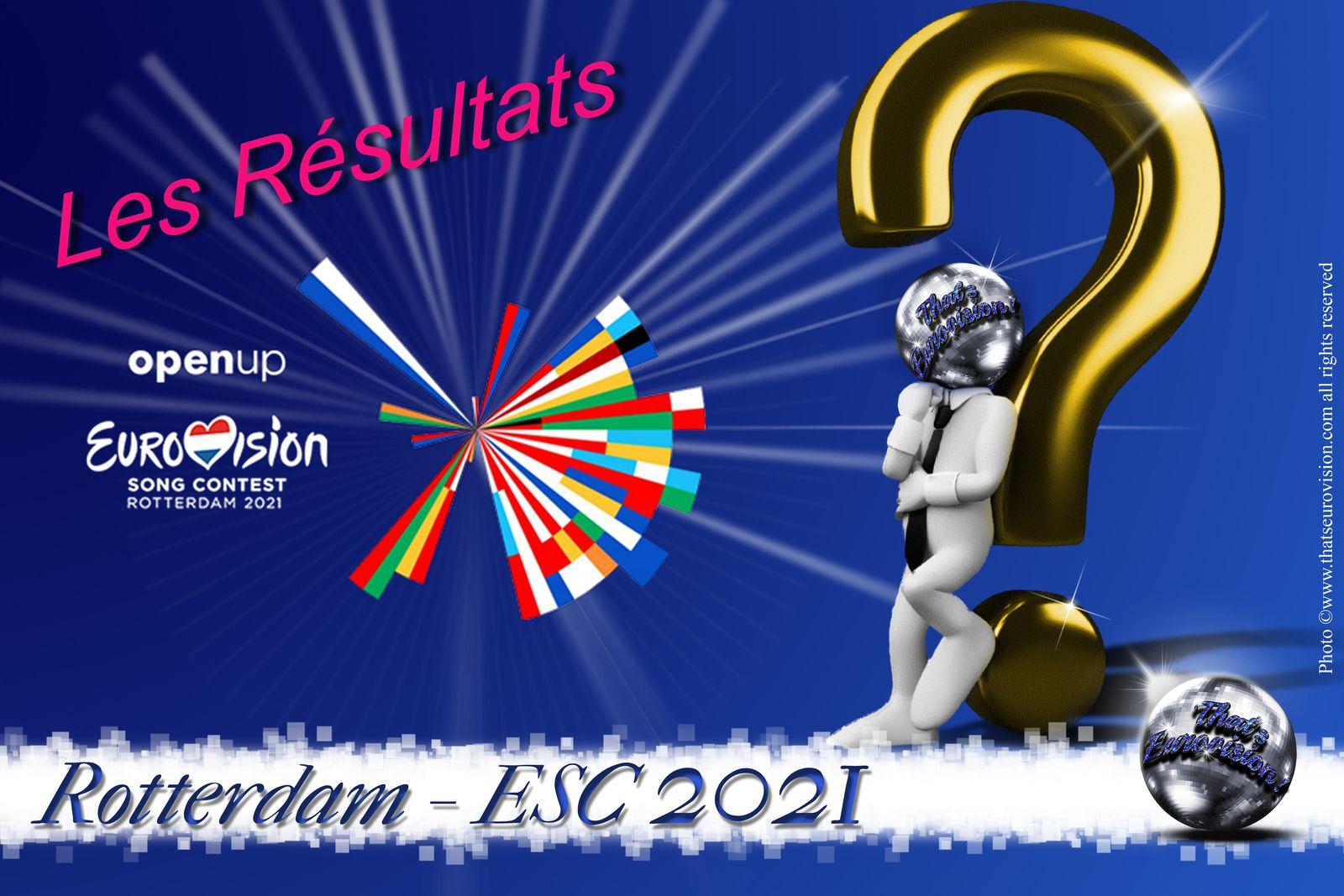 VOTRE CONCOURS EUROVISION 2021 ! - Les Résultats