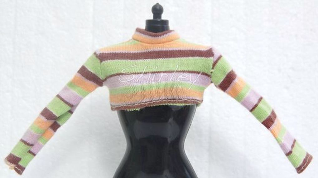 """EXTREME GREEN"" SKIPPER DOLL CLOTHES 1997 MATTEL #19666"