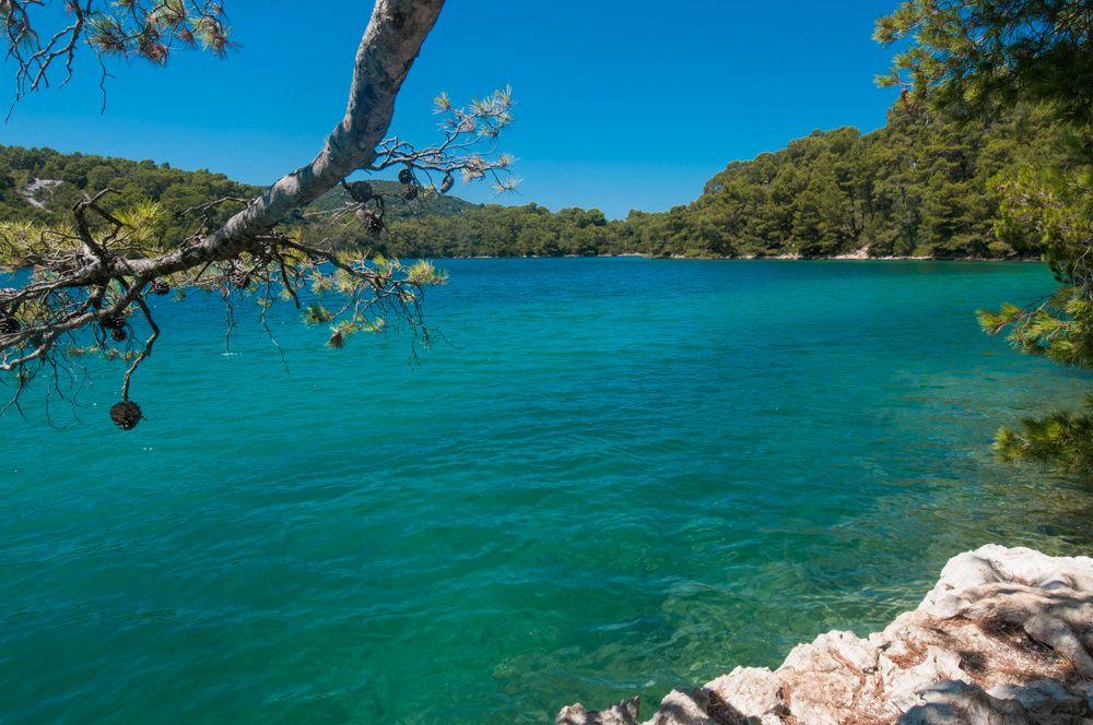 l'île de Mjet - Adriatique et îles du sud