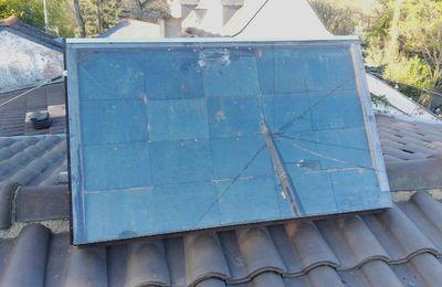 Capteur solaire à air chaud