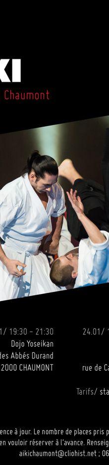Léo Tamaki à Chaumont, 23 au 25 janvier