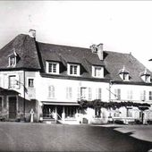 Tauves dans les années 1950-60 - L'Auvergne Vue par Papou Poustache