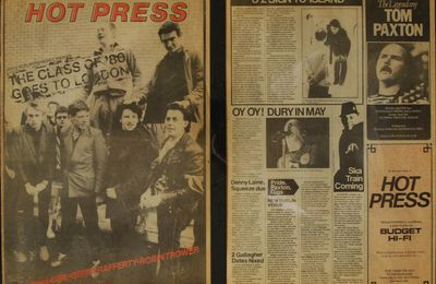 U2 Magazine Hot Press -1980 -The Little Museum Collection