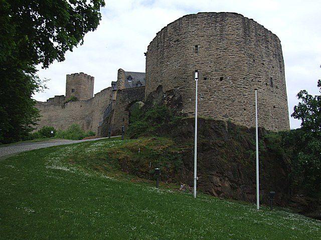 Diaporama château de Bourscheid