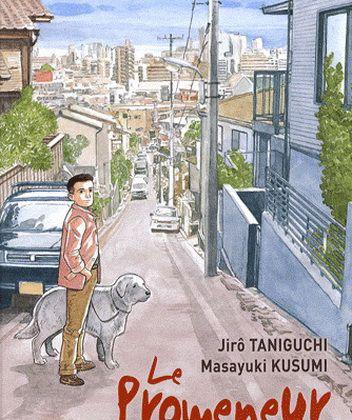 JIRO TANIGUCHI + MASAYUKI KUSUMI - Le promeneur, éditions Casterman