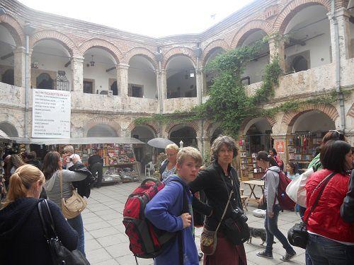 Dans le cadre de notre projet Comenius, nous sommes en Turquie à la découverte de la culture de nos partenaires turcs...Fabuleux voyage