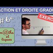 EXERCICE : Placer une fraction sur une demi-droite graduée - Sixième