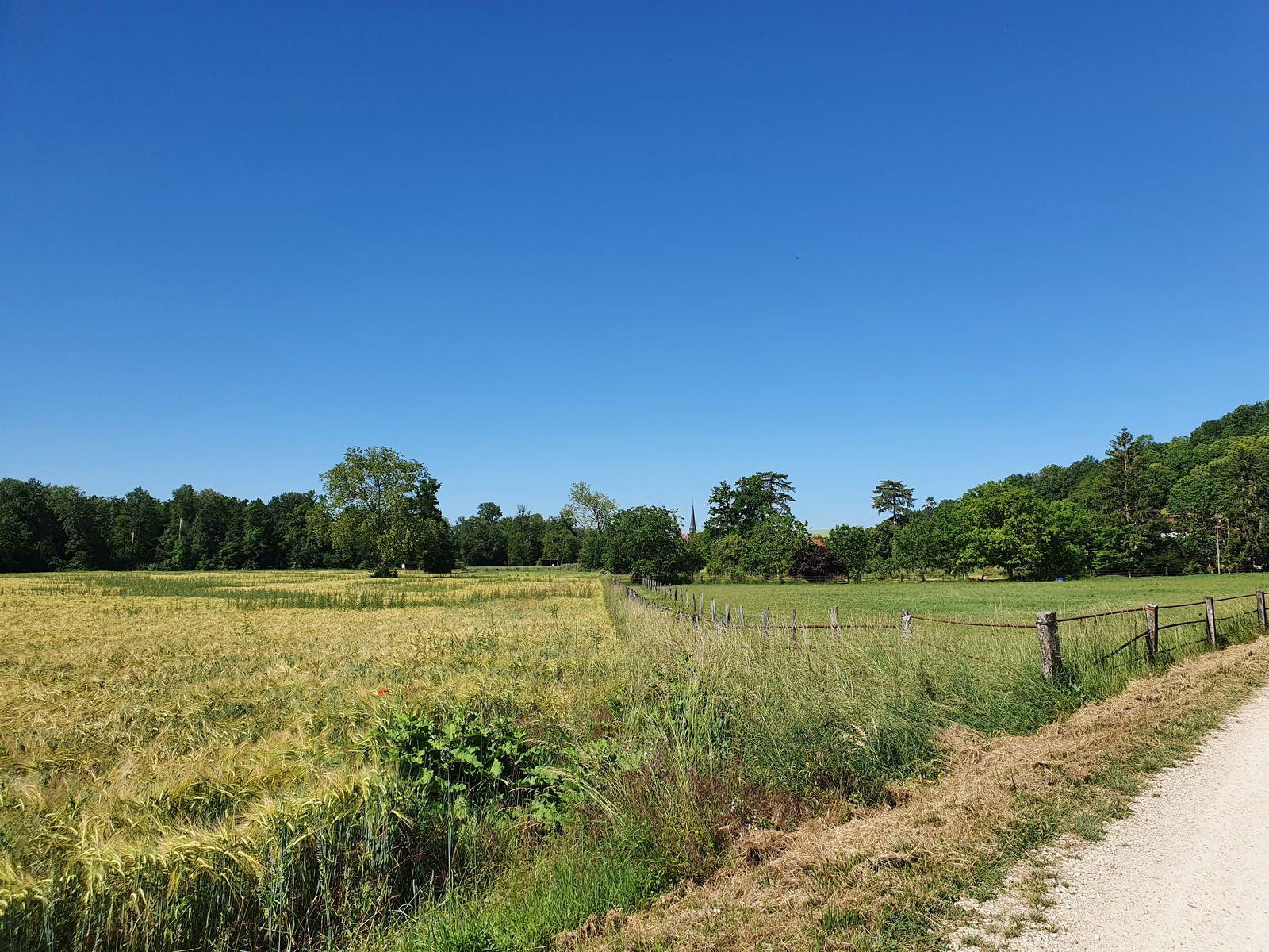 Dans les campagnes de Villeret