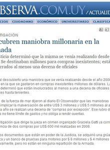 """Uruguay y la """"Navy"""": Preocupante información de Juanjulio.- por Mau Mau"""