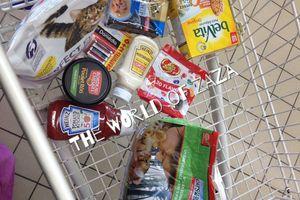 Nos petites courses à Intermarché
